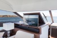 Belle Ile le 31/05/2017, la nouvelle Prestige 520. Photo © Jean-Marie LIOT pour Prestige Yacht
