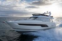 Les Sables d'Olonne le 27 avril 2016, Prestige Yachts, la Prestige P630 Photo © Jean-Marie LIOT - www.jmliot.com