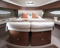 Princess-49-interior-forward-cabin-beds-together
