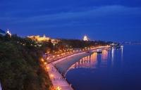 Набережная реки Амур в Хабаровске