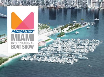 - Miami boat show ...