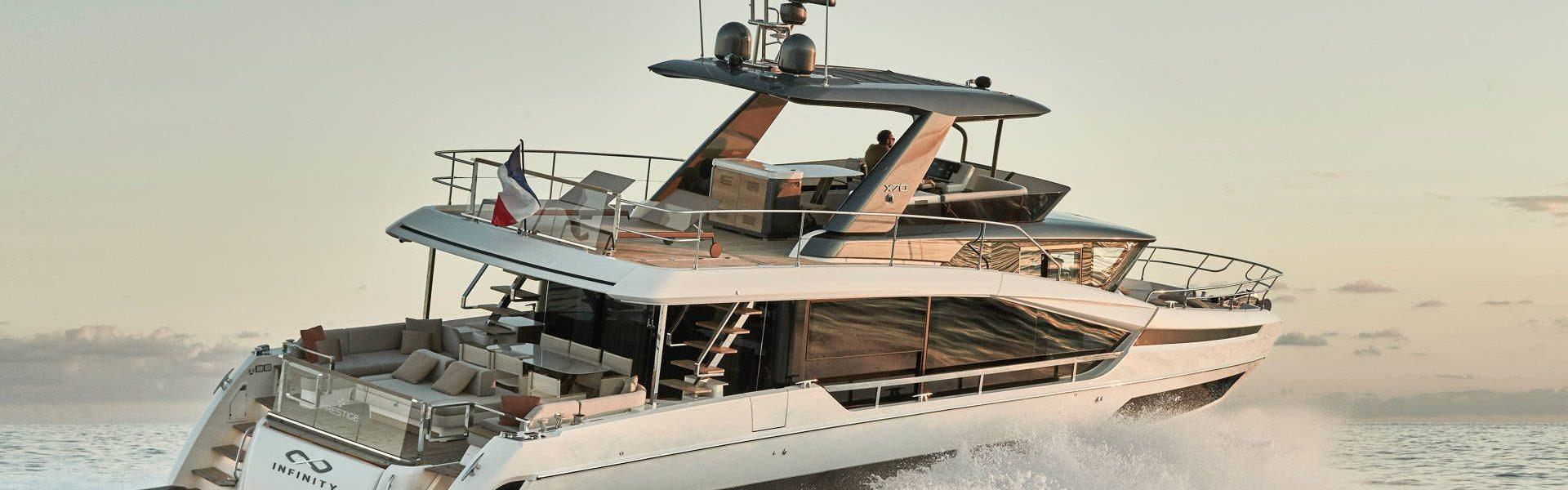 Яхты Prestige (Престиж, Франция)