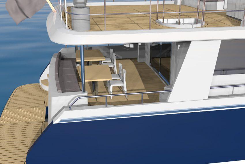 Selene 70 Ocean Explorer Bi-Hull