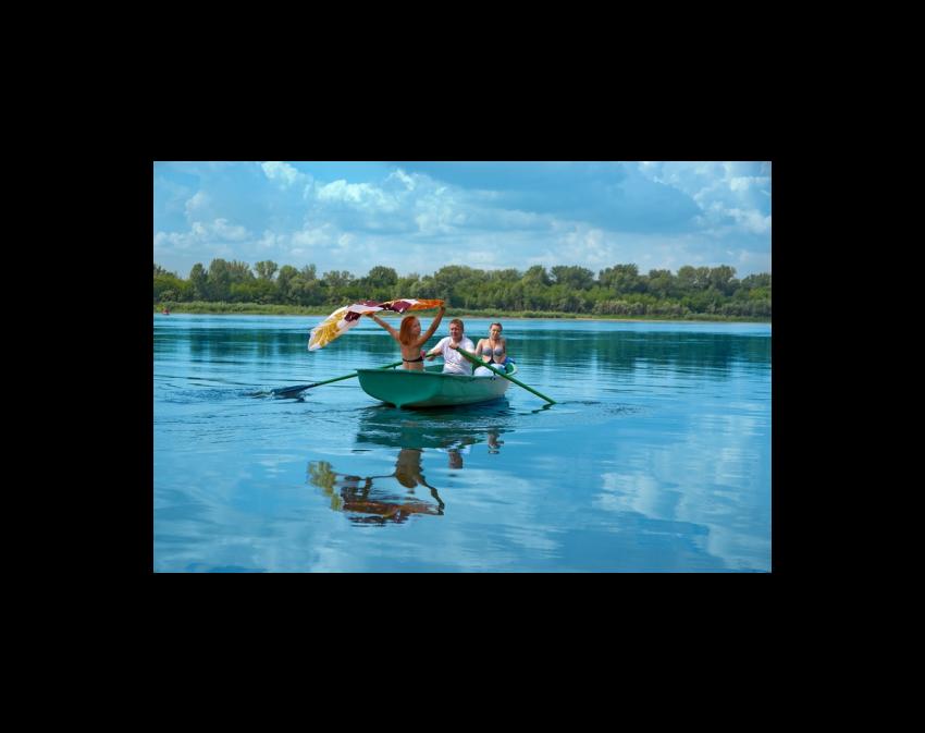 Стеклопластиковая Лодка Голавль