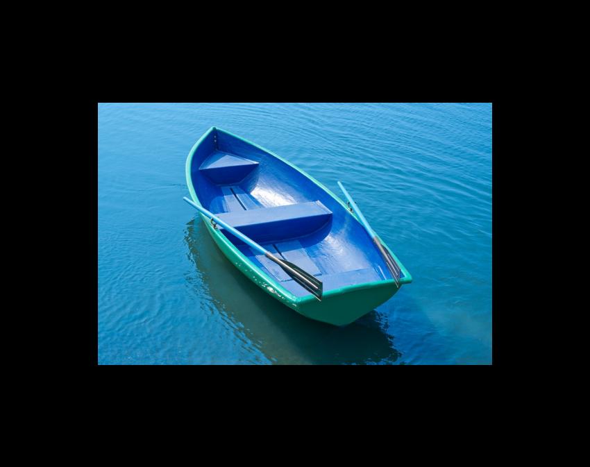 Стеклопластиковая лодка Дельфин