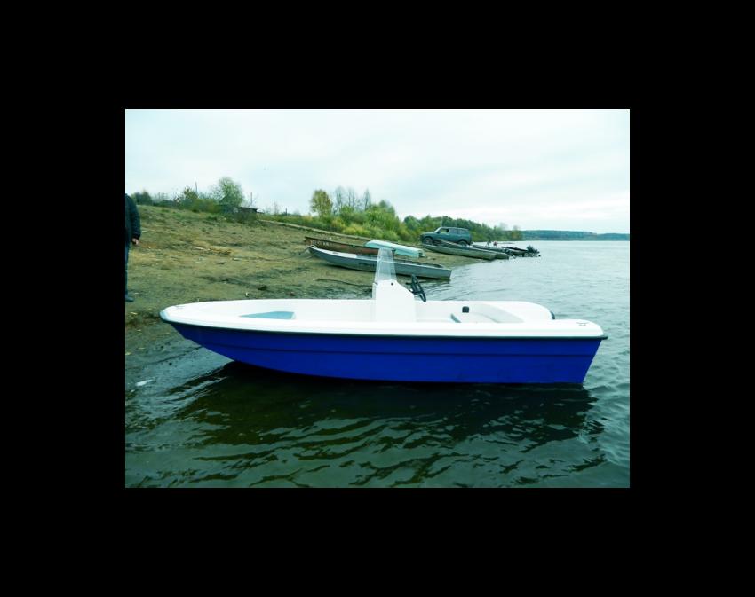 Тримаран Wyatboat 430 C
