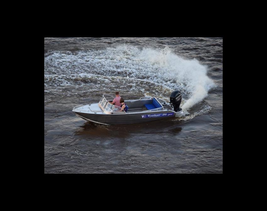 Wyatboat-490 Pro водомет