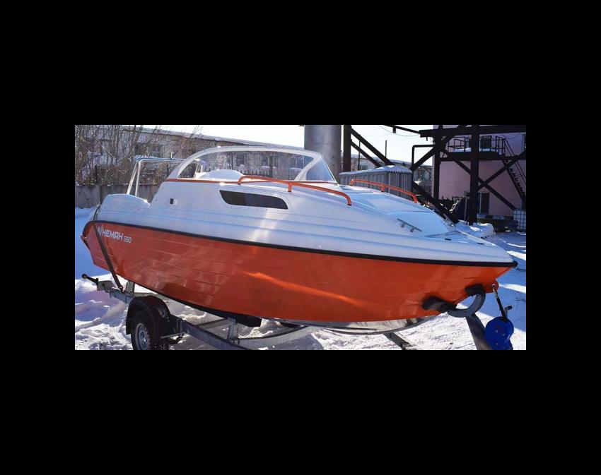 Neman-550 с каютой