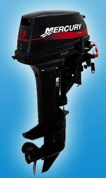 Двухтактный мотор Mercury 15 M SeaPro