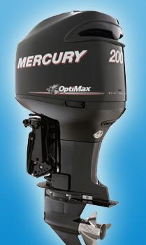Подвесной мотор Mercury 200 L OptiMax