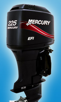 Двухтактный мотор Mercury V6 225 XL EFI SWB
