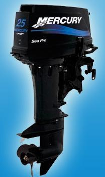 Двухтактный мотор Mercury 25 M SeaPro