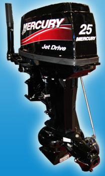 Водометные моторы Mercury 25 ML Jet