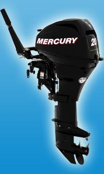 Четырехтактный малый мотор Mercury F 20 M