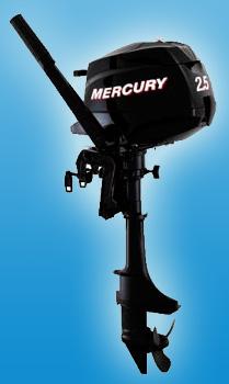 Четырезтактный портативный мотор Mercury F 2.5 M