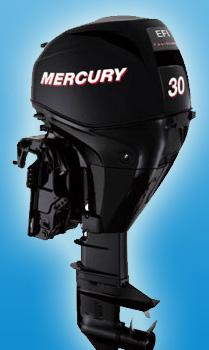 Четырехтактный средний мотор Mercury F 30 M GA EFI