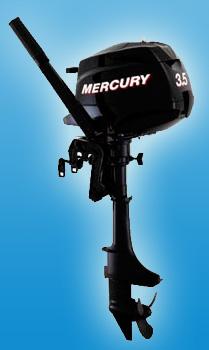 Четырезтактный портативный мотор Mercury F 3.5 M