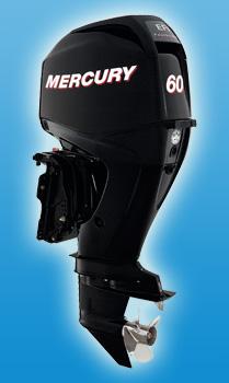 Четырехтактный средний мотор Mercury F 60 ELPT EFI