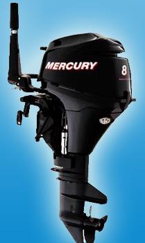Четырехтактный малый мотор Mercury F 8 M