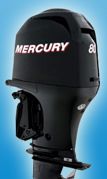 Четырехтактный средний мотор Mercury F 80 ELPT EFI