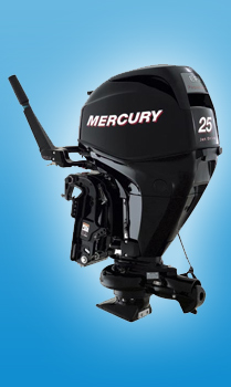 Водометные моторы Mercury F 25 MLH GA EFI Jet